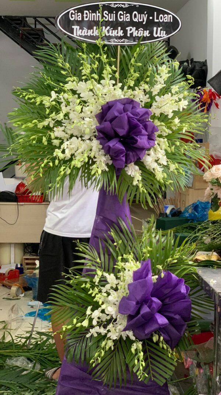 hoa đám tang đông hải