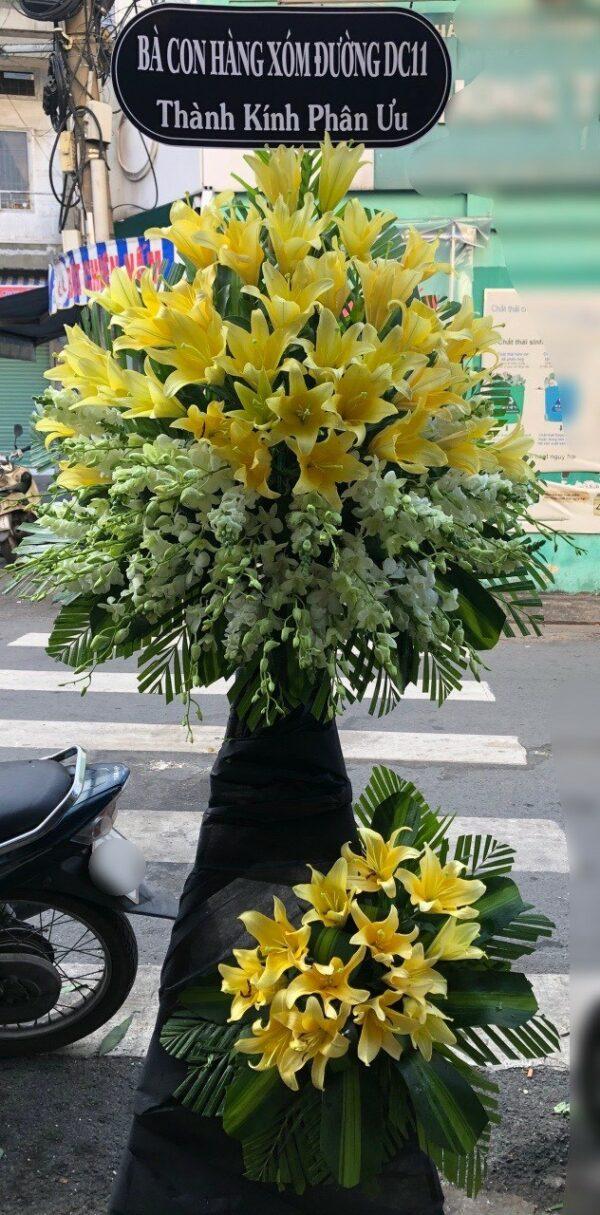 hoa đám tang kiên hải