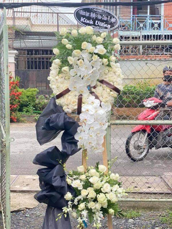 hoa đám tang đức trọng