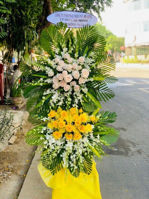 hoa đám tang hớn quản