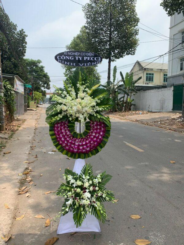 hoa đám tang khánh vĩnh