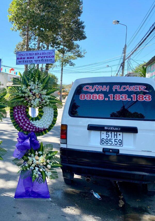 hoa đám tang ninh hải